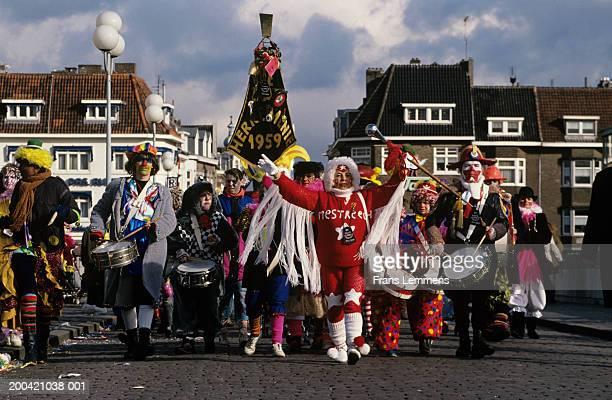 The Netherlands, Limburg, Maastricht, street parade
