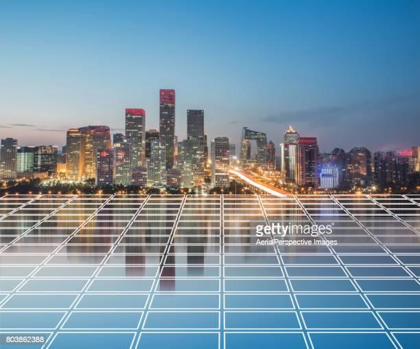 The Network of Beijing CBD
