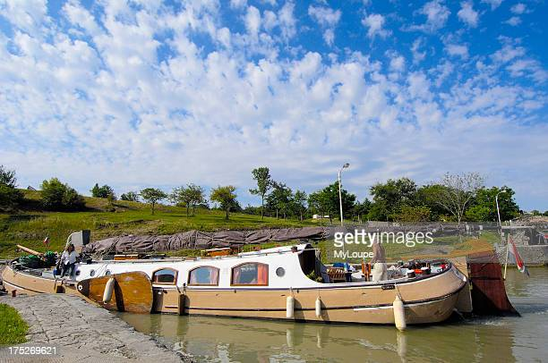 The Neuf Ecluses Canal du Midi Beziers Herault LanguedocRoussillon France