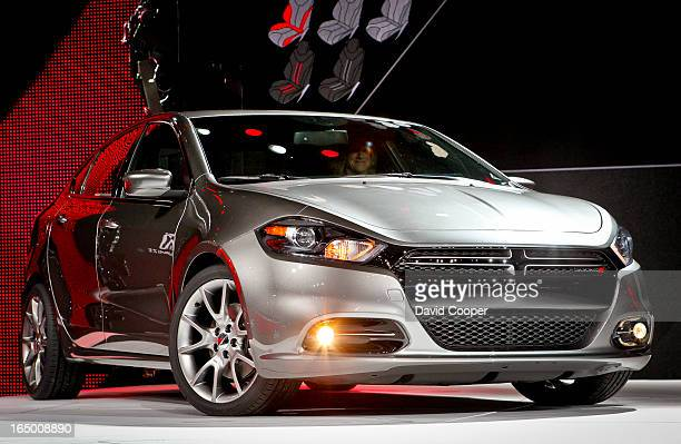 The new 2013 Dodge Dart at The North American International Auto Show 2012 Cobo Hall January 9 2012