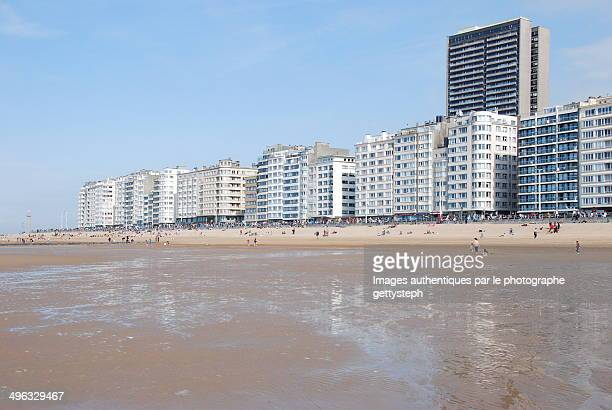 The new beach of Ostend