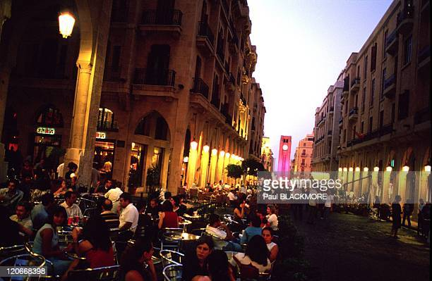 The new Beirut in Lebanon on October 13 2002 Down Town Beirut Before the war down town Beirut was a meeting point for all levels of Beiruti society...