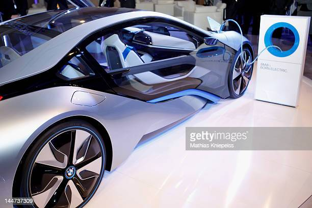 The new BMW i8 at the third day of the CGDC Annual Meeting on May 18 2012 in Vienna Austria The Center for Global Dialogue and Cooperation is a...