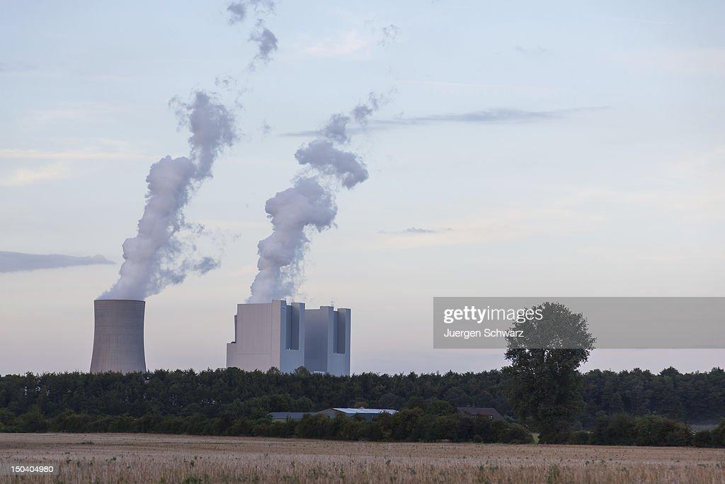 The new BoA 2&3 coal-burning power plant stands behind trees the day after it officially went into operation on August 16, 2012 near Grevenbroich, Germany. The plant, which is operated by German power company RWE, is rated at 2,200 Megawatts, making it the biggest coal-fired plant in Europe. Though Germany is among world nations leading in investments in renewable energy sources, supporters of the BoA 2&3 argue the plant is necessary as a bridge until the capacity of renewable energy sources becomes sufficient, especially in light of Germany's commitment to phase out its nuclear power plants. According to RWE the plant will also replace 13 smaller, less-efficient coal-burning plants in the region.