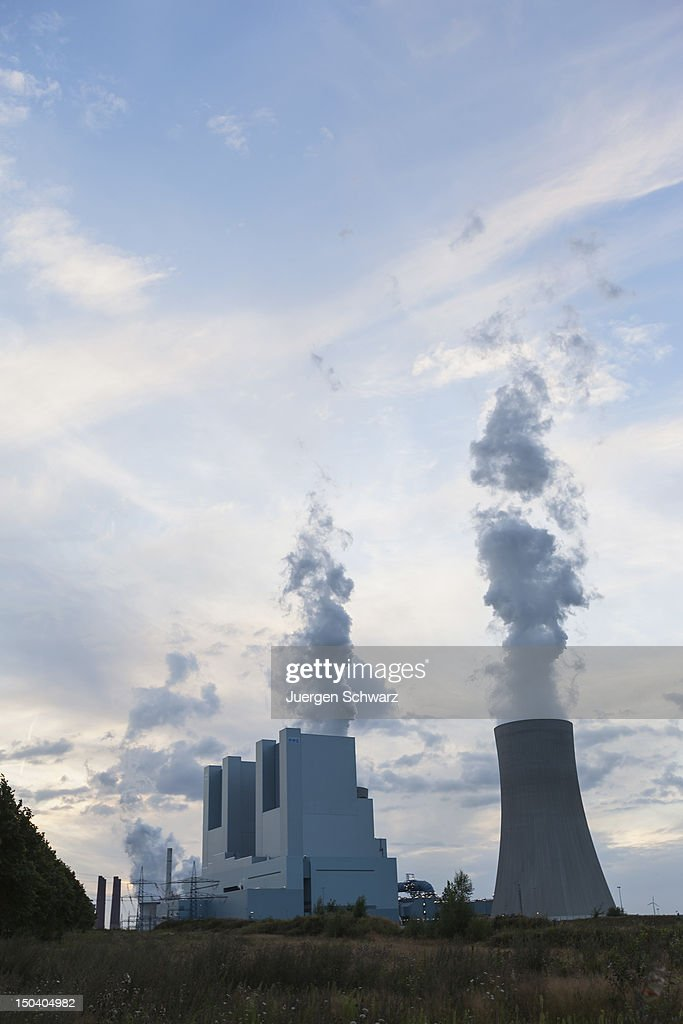The new BoA 2&3 coal-burning power plant stands the day after it officially went into operation on August 16, 2012 near Grevenbroich, Germany. The plant, which is operated by German power company RWE, is rated at 2,200 Megawatts, making it the biggest coal-fired plant in Europe. Though Germany is among world nations leading in investments in renewable energy sources, supporters of the BoA 2&3 argue the plant is necessary as a bridge until the capacity of renewable energy sources becomes sufficient, especially in light of Germany's commitment to phase out its nuclear power plants. According to RWE the plant will also replace 13 smaller, less-efficient coal-burning plants in the region.