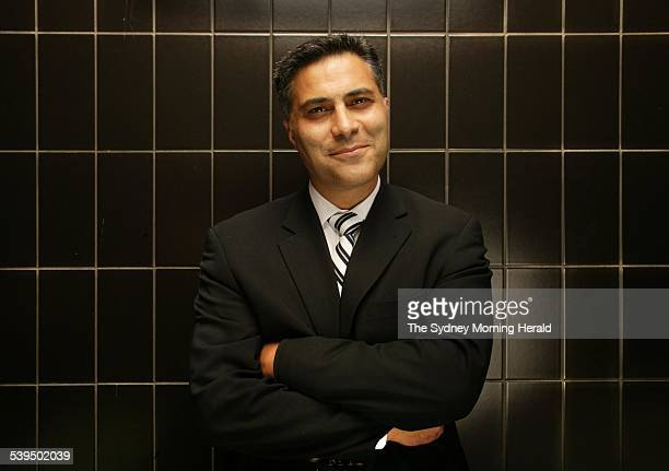 The new boss of the National Australia Bank Ahmed Fahour 23 December 2004 SMH Picture by SIMON SCHLUTER