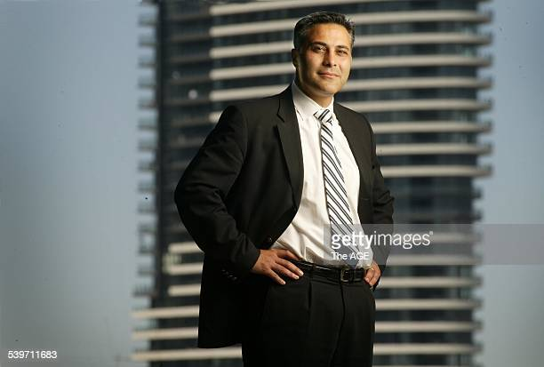 The new boss of the National Australia Bank Ahmed Fahour on 23rd December 2004 THE AGE BUSINESS Picture by SIMON SCHLUTER