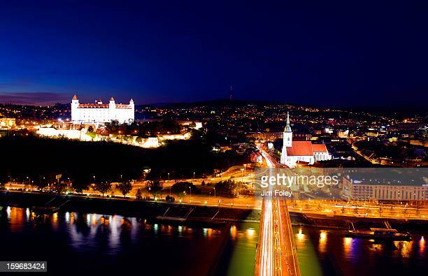The New Bridge, Bratislava, Slovakia