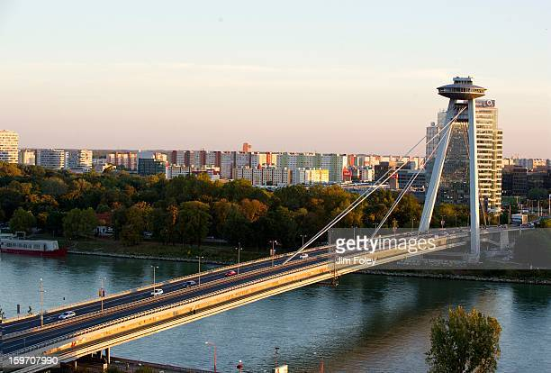 The 'New Bridge', Bratislava, Slovakia