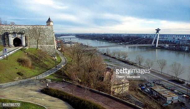 The New Bridge is a road bridge over the Danube in Bratislava the capital of Slovakia It is the 26th and the lowest and only member of World...
