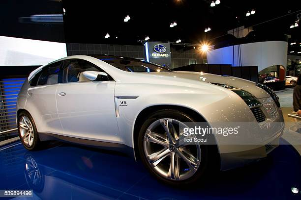 The new concept car by Hyundai the NEOS 3 Crossover Utility Vehicle concept makes its North American debut at the 2006 Greater Los Angeles Auto Show...