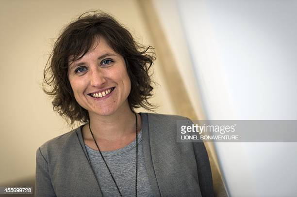 The new curator of the Picasso museum Emilie Bouvard poses on September 19 2014 in Paris AFP PHOTO / LIONEL BONAVENTURE