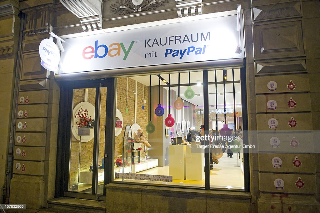 The new Ebay Pop-Up Store at Oranienburger Strasse on December 6, 2012 in Berlin, Germany.