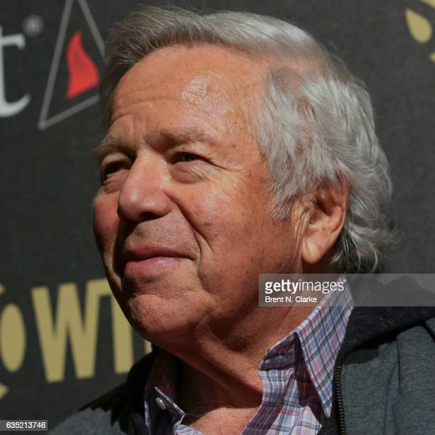 CEO The New England Patriots Chairman/CEO of The Kraft Group Robert Kraft attends Showtime's 'Billions' Season 2 premiere held at Cipriani 25...