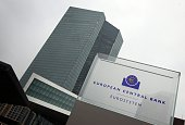 The new European Central Bank building is pictured prior to a press conference following the meeting of the Governing Council in Frankfurt/Main...