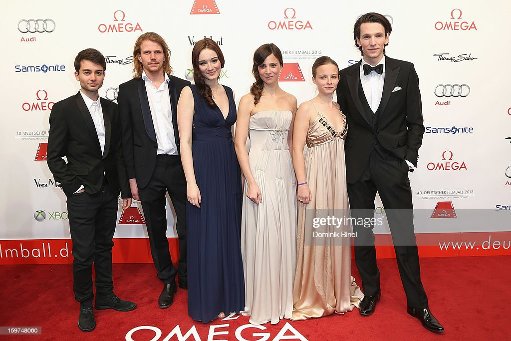 The New Faces attend the Germany Filmball 2013 at Hotel Bayerischer Hof on January 19, 2013 in Munich, Germany.