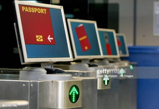 The new facial recognition system at Manchester Airport