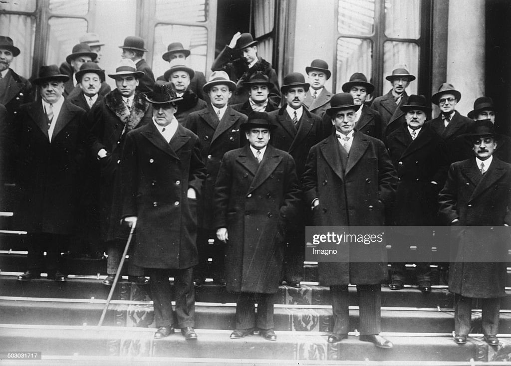 The new French cabinet of Prime Minister Édouard Daladier January 1934 [] Photograph