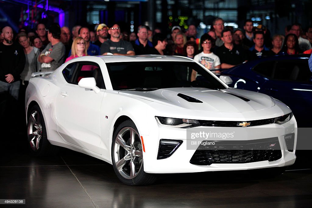Camaro Rolls Off Production Line At Lansing Gm Assembly
