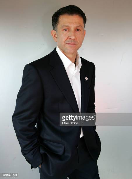 The new head coach of the New York Red Bulls Juan Carlos Osorio poses at the Gansevoort Hotel December 18 2007 in Manhattan in New York City