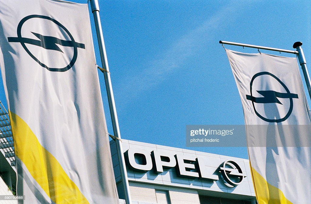 The new headquarters of German car maker Opel located in Russelsheim Opel insignia and colors
