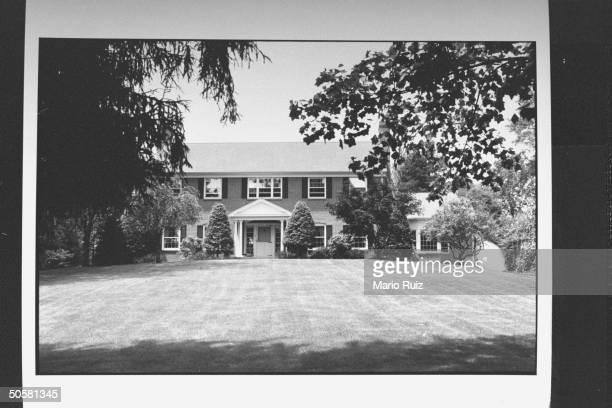 The new house at 431 Hillside Avenue the old house was where John E List killed his mother wife and three children