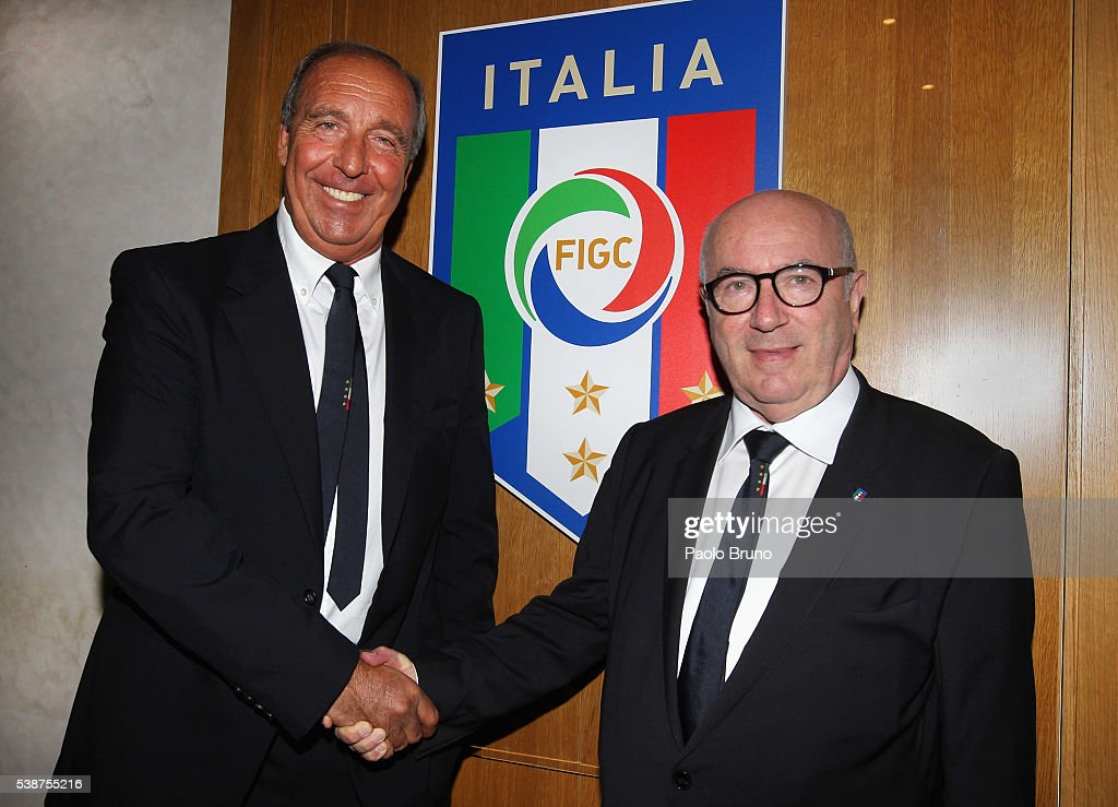 Italian Football Federation Unveils New Coach Giampiero Ventura