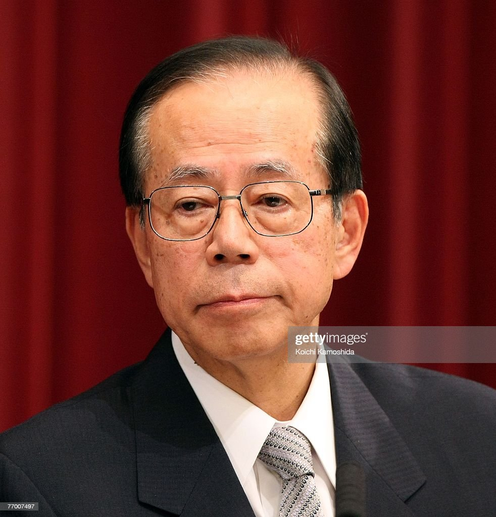 The Press Cabinet New Japanese Prime Minister Yasuo Fukuda Unveils New Cabinet