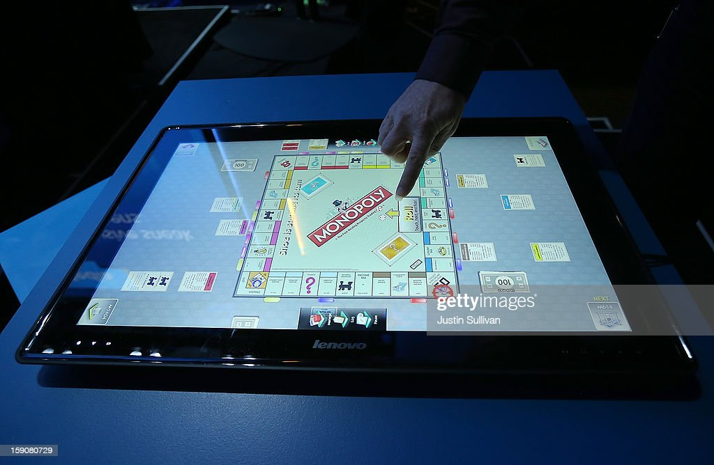 The new Lenovo IdeaCentre Horizon Table PC is demonstrated during an Intel press conference at the 2013 International CES at the Mandalay Bay Convention Center on January 7, 2013 in Las Vegas, Nevada. CES, the world's largest annual consumer technology trade show, runs from January 8-11 and is expected to feature 3,100 exhibitors showing off their latest products and services to about 150,000 attendees.