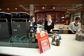 The new McCafe coffee shop at the company's Oak Brook Illinois headquarters