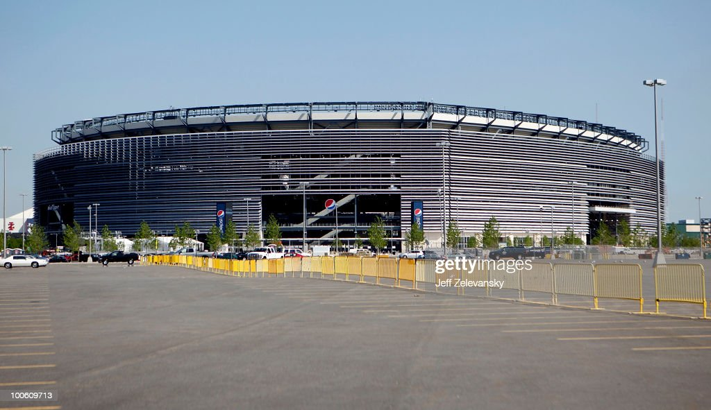 The New Meadowlands Stadium is seen on May 25 2010 in East Rutherford New Jersey The NFL has annouced that the 2014 Super Bowl will be played in the...