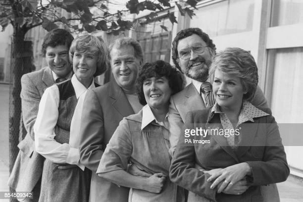 The new members of 'Afternoon Plus' produced by Thames Television featuring James Ellis Mary Parkinson Bernard Braden Mavis Nicholson Bernard Braden...