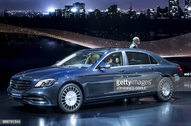 Mercedes stock photos and pictures getty images for Mercedes benz s680