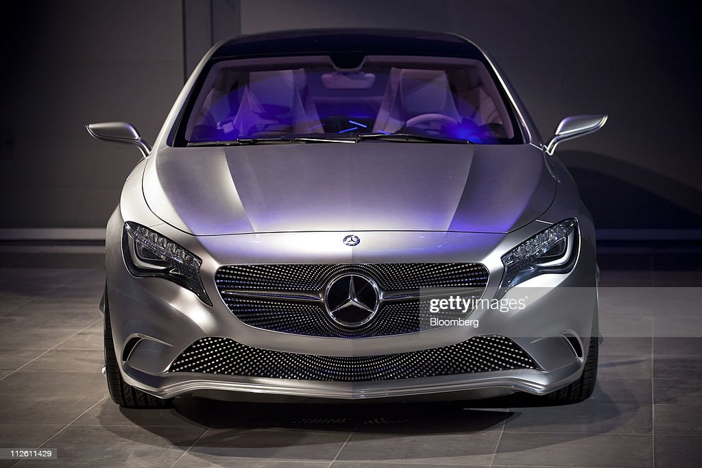 mercedes benz manhattan dealership event vehicle reveal getty. Cars Review. Best American Auto & Cars Review
