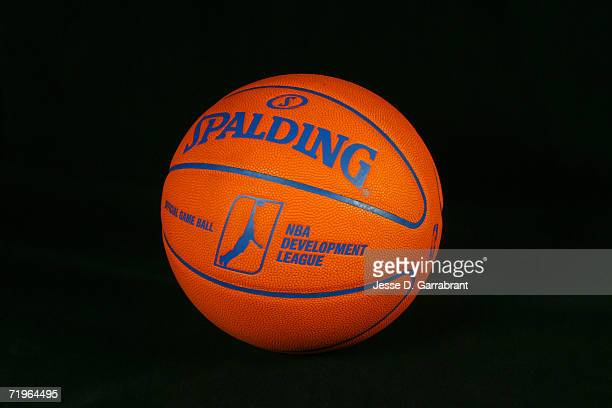 The new NBDL basketball by Spalding is previewed on September 13 2006 in Secaucus New Jersey NOTE TO USER User expressly acknowledges and agrees that...