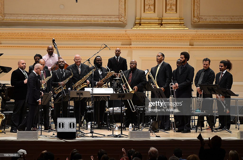 The New Orleans Jazz Orchestra performs at Carnegie Hall on October 8, 2012 in New York, New York.