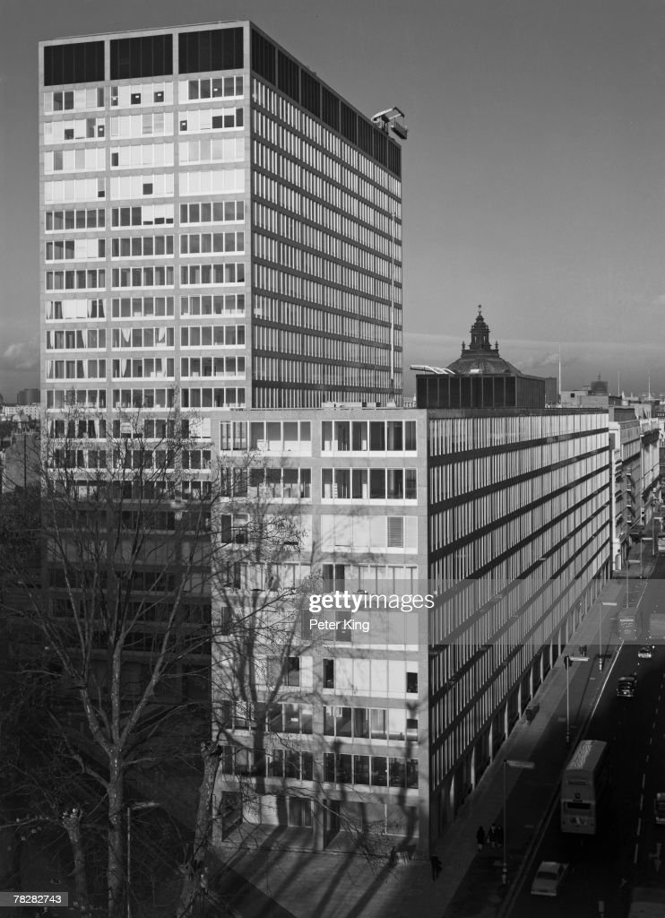 The new premises of New Scotland Yard headquarters of the Metropolitan Police on Broadway and Victoria Street in Westminster 22nd February 1967