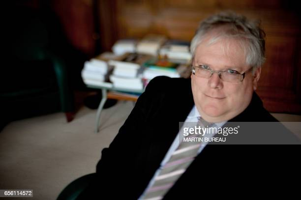 The new President of the French National Center of Scientific Research Alain Fuchs poses on January 28 2010 in his office in Paris Alain Fuchs has...