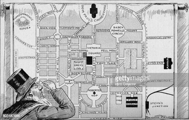 The New Pretoria' 1900 From Black White Budget Vol III [The Black and White Publishing Company J P Monckton Leeds Manchester Glasgow Edinburgh London...
