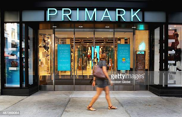 The new Primark store at Downtown Crossing in Boston Mass on Tuesday September 8 2015