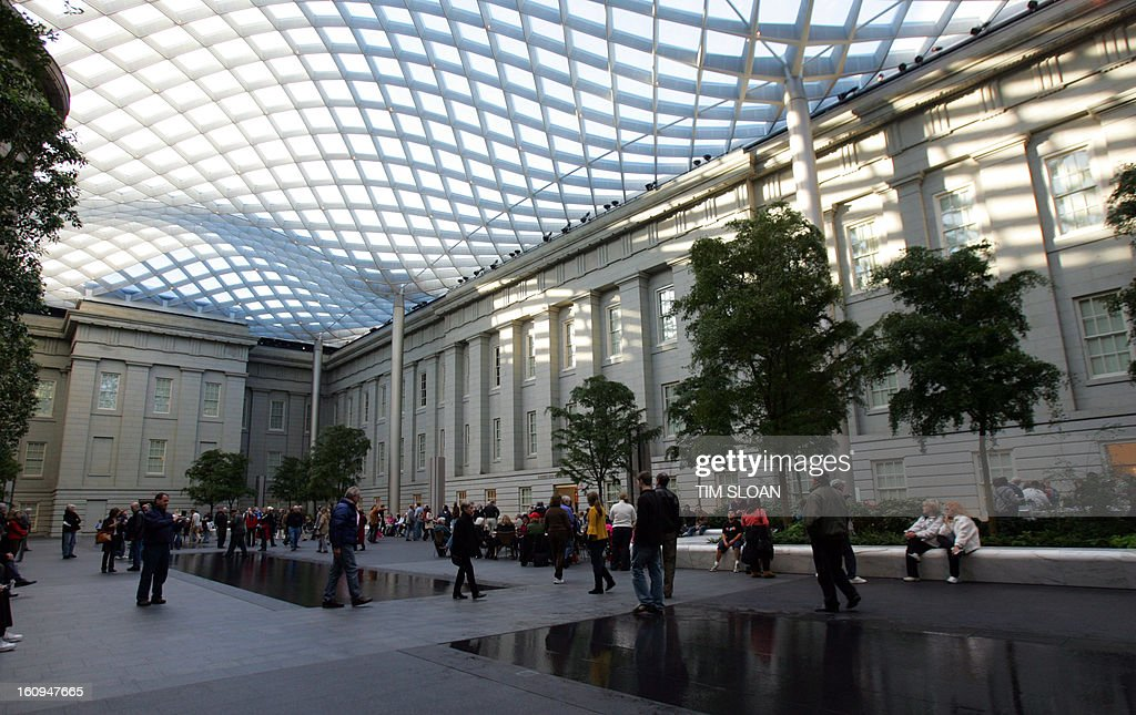 norman foster office. The New Robert And Arlene Kogod Courtyard With Its Elegant Glass Canopy Designed By World Renowned Architect Norman Foster Of Partners In London Office