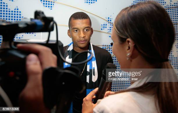 The new signing of FC Internazionale Milano Dalbert Henrique Chagas Estevao release an interview with Inter Channel at FC Internazionale headquarters...