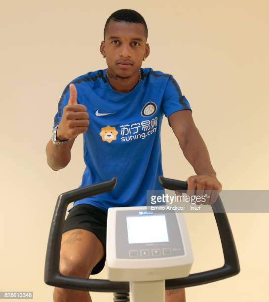The new signing of FC Internazionale Milano Dalbert Henrique Chagas Estevao during a medical examination at CONI Sporting Medical Center on on August...