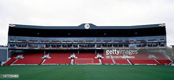 The new South Stand at Highbury Stadium home of Arsenal Football Club in London 14th November 1994