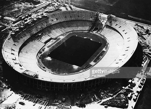 The new State Sports Field in Berlin which will host the 1936 Olympic Games 1st April 1936