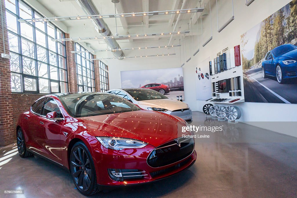 The New Tesla Motors Showroom And Service Center Is Almost Ready To Pictures Getty Images
