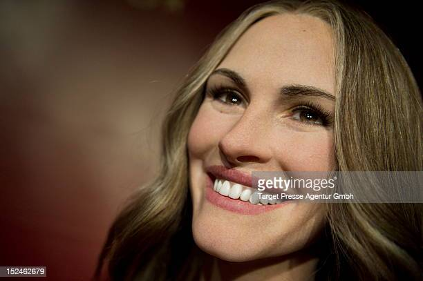 The new wax figure of actress Julia Roberts is unveiled at Madame Tussauds on September 21 2012 in Berlin Germany