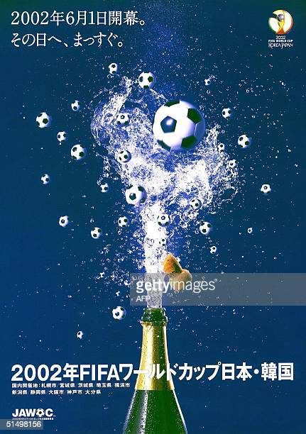 The new World Cup 2002 public relation poster released by the Japan Organising Committee for the 2002 FIFA World Cup Korea/Japan 14 February 2000 The...