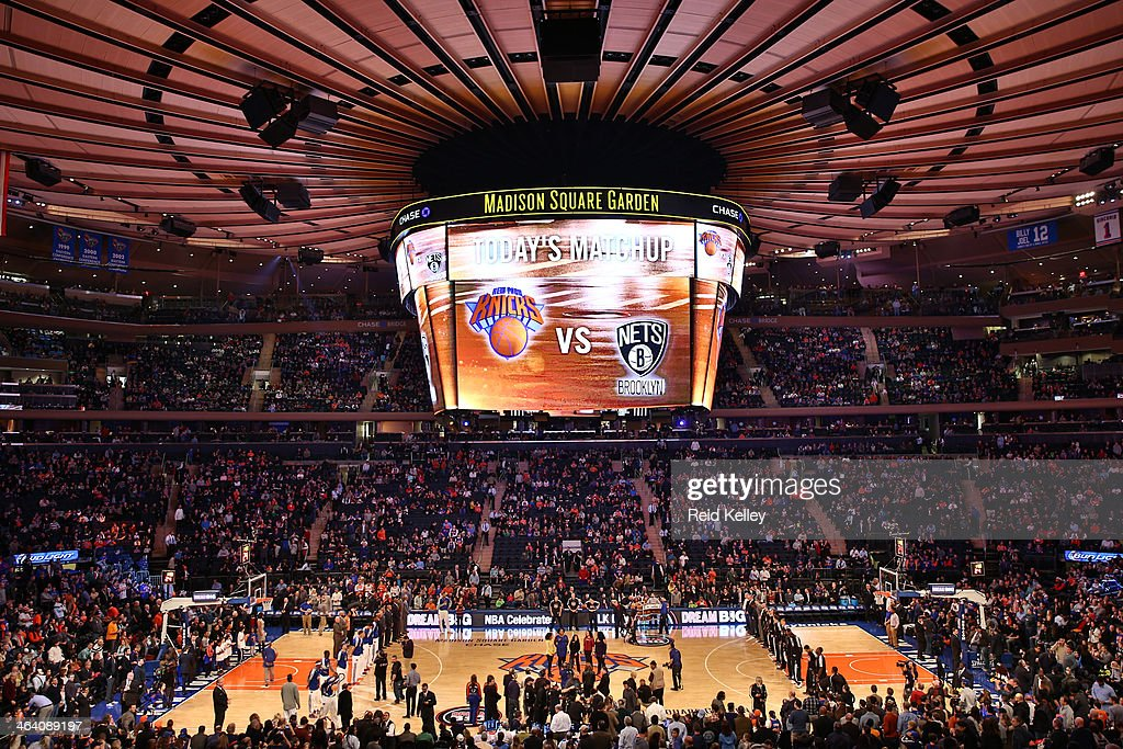 Brooklyn Nets V New York Knicks Getty Images