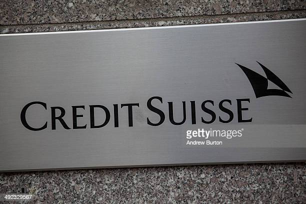 The New York offices of Credit Suisse are shown on Madison Avenue on May 19 2014 in New York City Credit Suisse is expected to plead guilty to one...